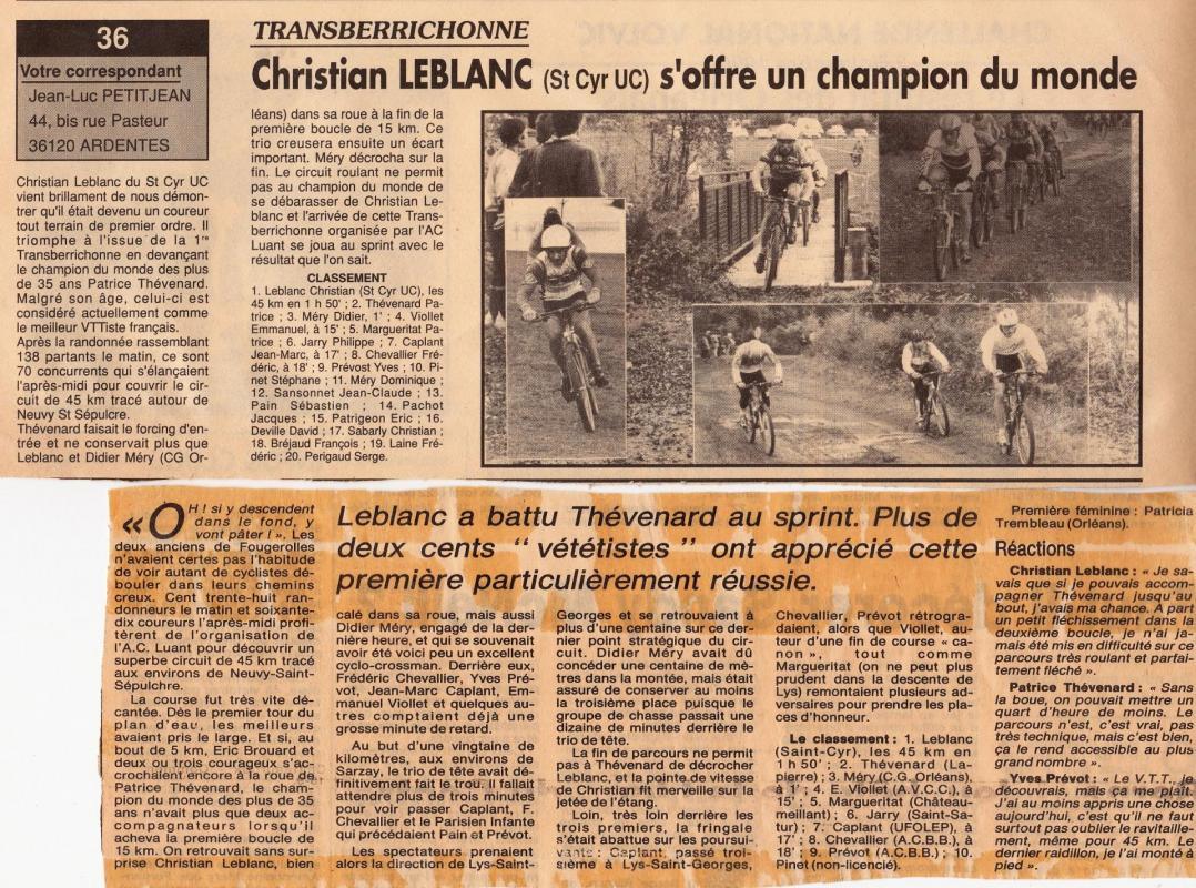 1990 resultats et commentaires