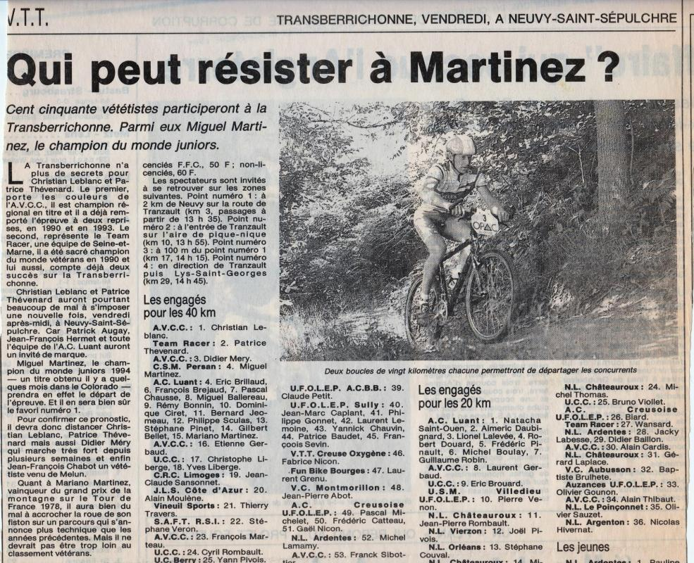 1994 5eme tb