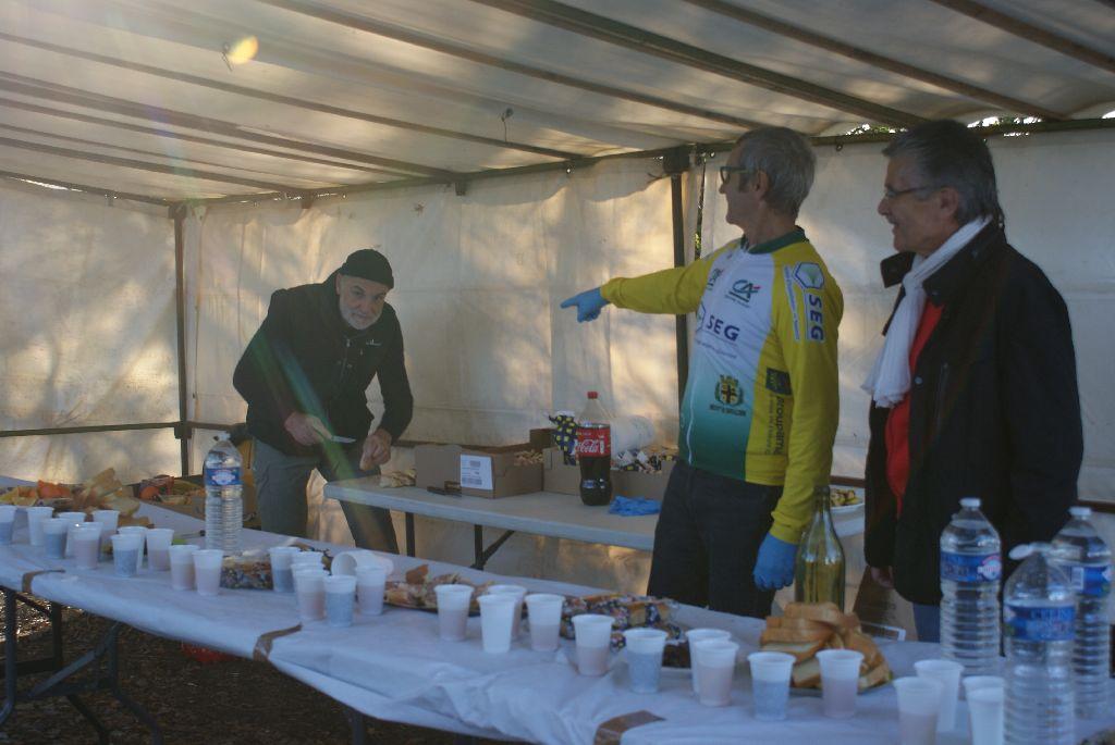 Ravitaillement de Villerandoux, préparation